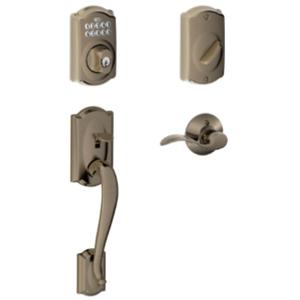 Residential door locks