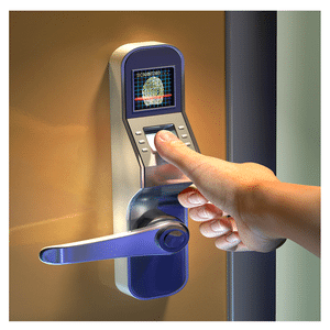 Commercial sercurity fingerprint scanner door lock