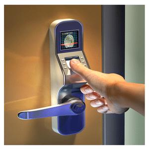 Commercial sercurity fingerprint scanner door lock